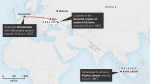 Malaysia Airlines Flight MH17 Map Route