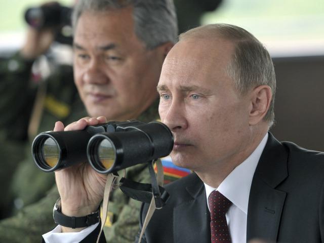 Vladimir Putin Binoculars War Ukraine AP