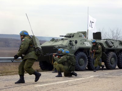 Russian peacekeepers in Ukraine