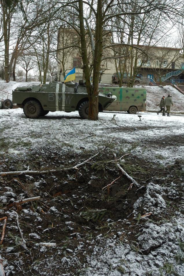 Debaltseve shelling