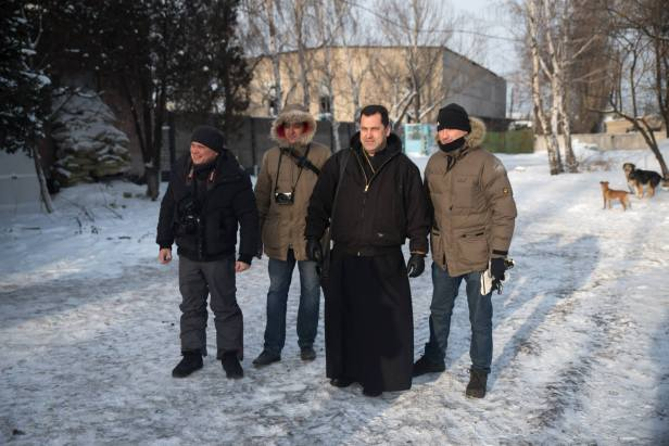 Debaltseve Ukraine Catholic priest