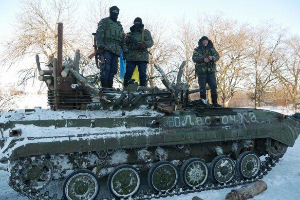 Ukraine 40 battalion Debaltseve