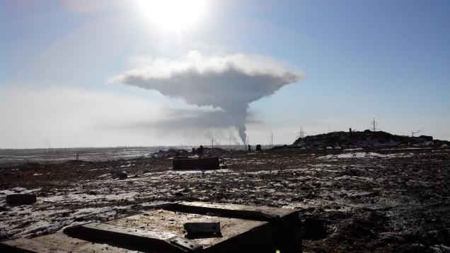 Debaltseve fire Ukraine withdrawal