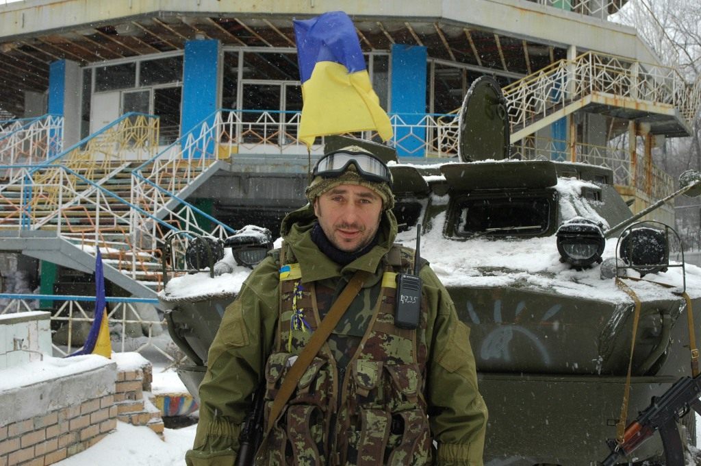 Major Vakulenko Debaltseve 40 battalion