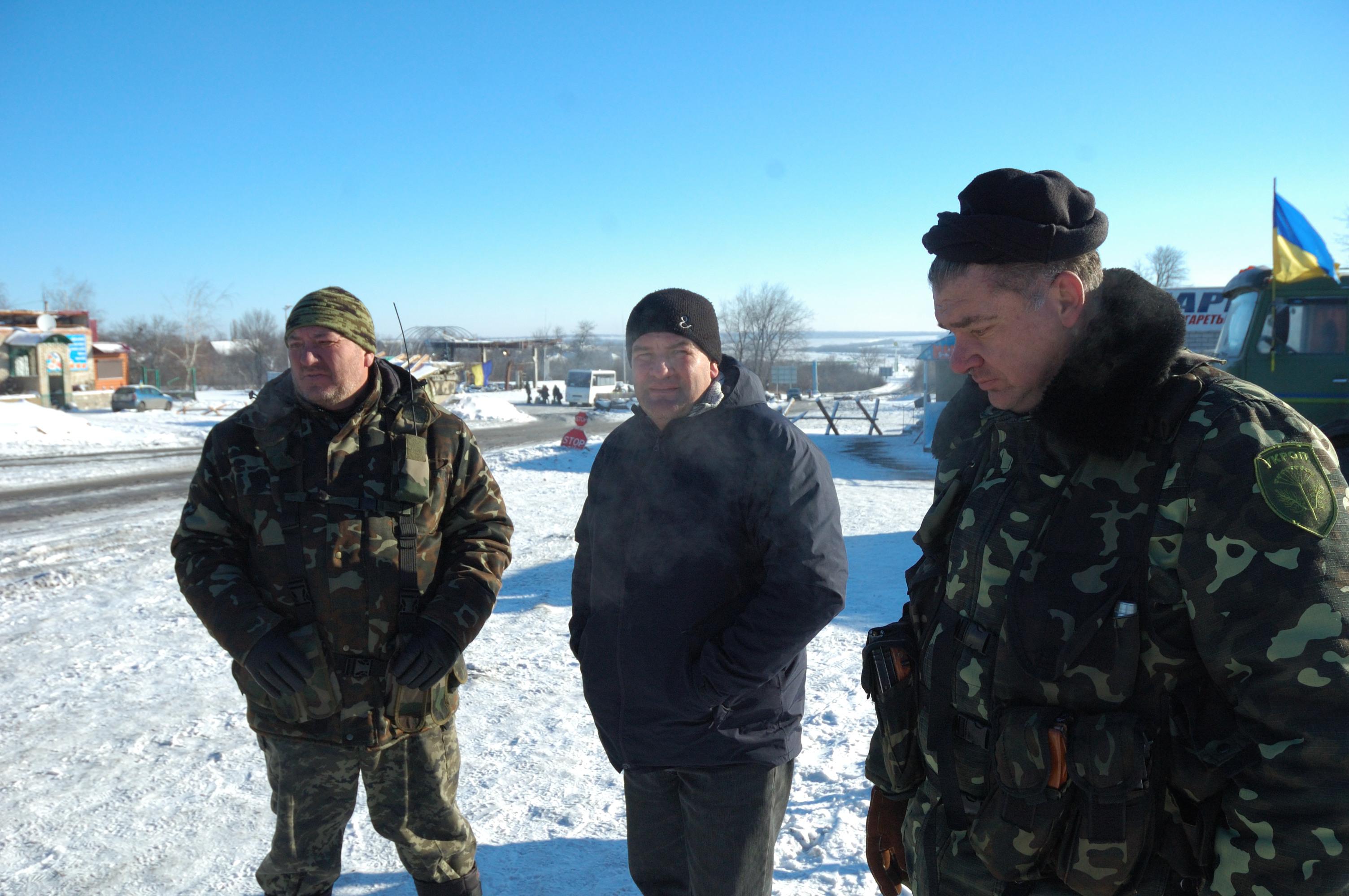 Sergeant Medvedev 40 Battalion Debaltseve