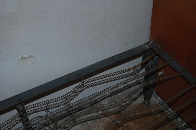 Debaltseve shelling fragment bed