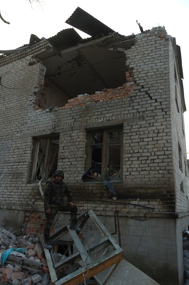 Debaltseve ruins major Vakulenko 40 battalion