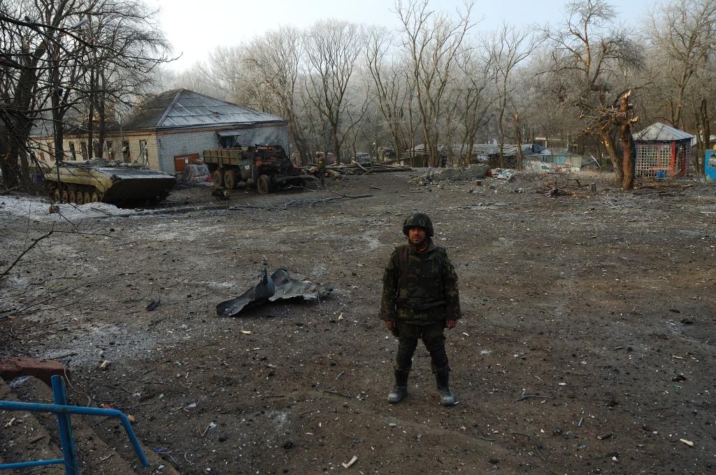 Debaltseve ruins major Vakulenko 40 battalion
