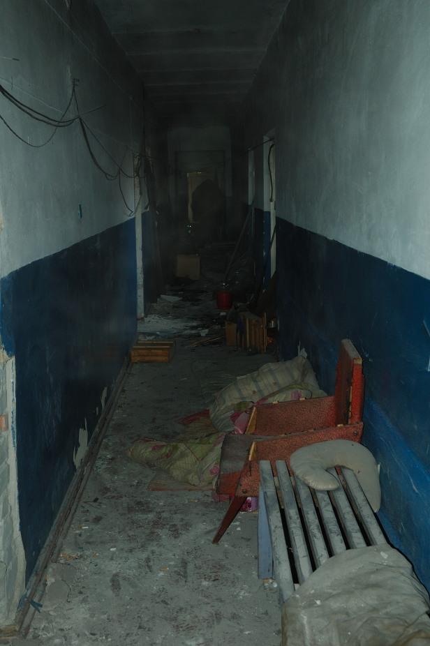 Debaltseve Ukraine army shelter