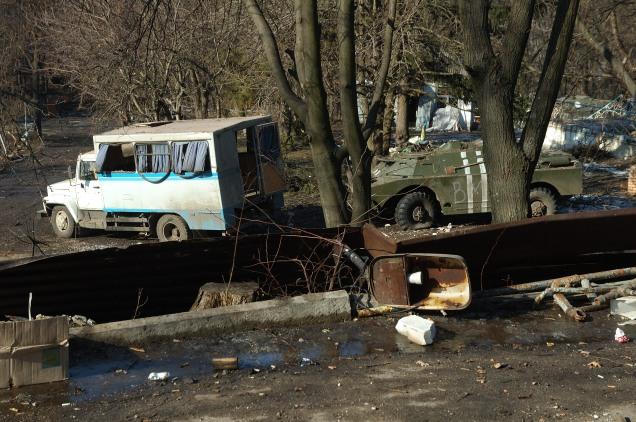 Debaltseve Ukraine army base