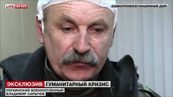 Colonel Sarychev captivity separatists Donetsk