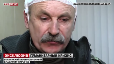 Colonel Sarychev captivity separatists Donetsk