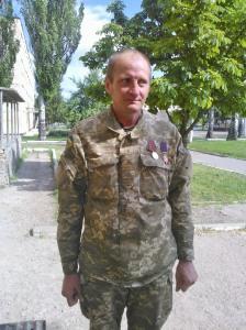 The driver, Pavlo Pavlovych 40 Battalion