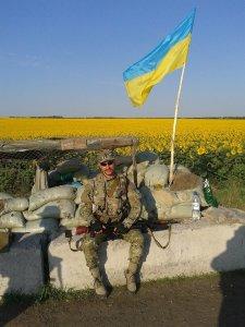 Sr. Lieutenant Yuriy Brekharia Ukraine Ilovaisk