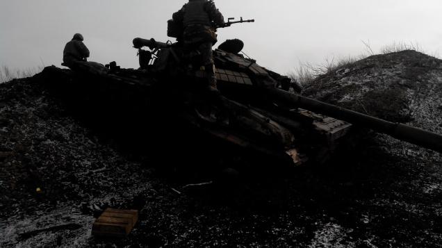 Ukraine tank Debaltseve Zenith