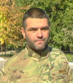 Andrew Asmolov Ukraine army sergeant Debaltseve