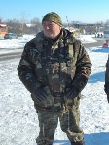 Ukraine armyColonel Shcherbyna Debaltseve