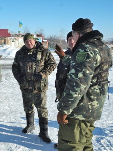 Ukraine Colonel Shcherbyna Debaltseve