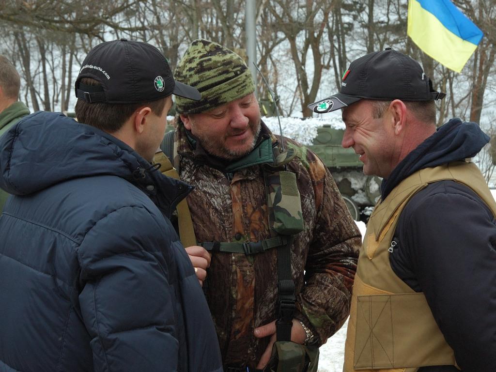 Ukraine army Colonel Shcherbyna Debaltseve