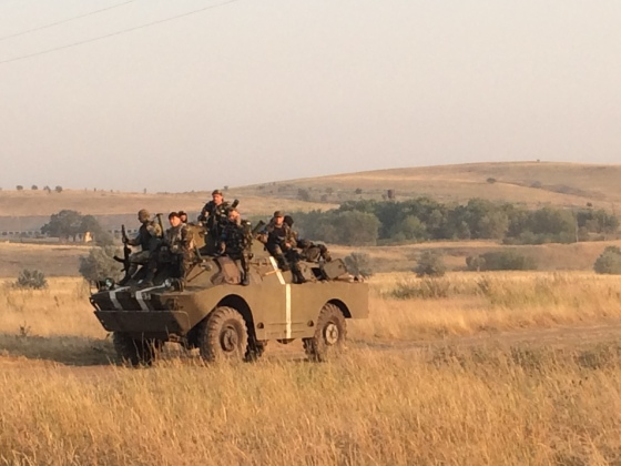 Ukraine army troops Ilovaisk