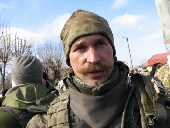 Yuri Brekharia 40 Battalion Ukraine Debaltseve