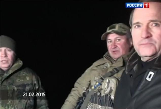General Hrytsak Victor Medvedchuk Ukraine POWs army