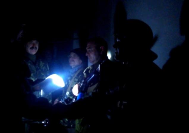 Ukraine soldiers military oath Debaltseve