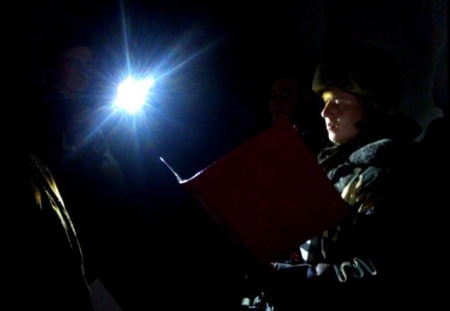 Ukraine soldier military oath Debaltseve