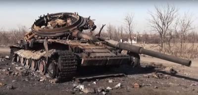 Ukrainian natk destroyed