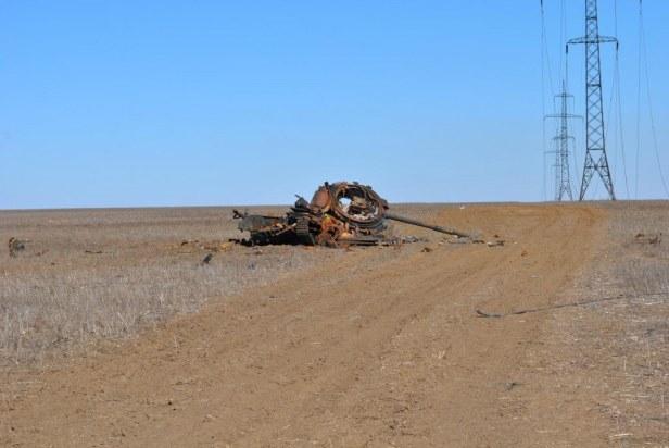 Ukrainian tank war Debalsteve